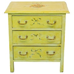 Small Floral Painted Chest