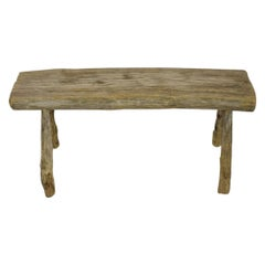 Small French 18/ 19th Century Rustic Wooden Table