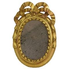Small French 18th Century Louis XVI Style Mirror