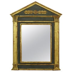 Small French 19th Century Classical Mirror