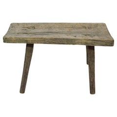 Small French 19th Century Rustic Oak Table