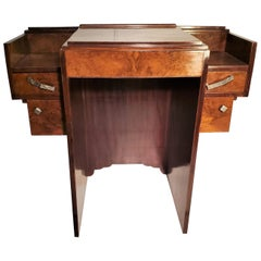 Small French Art Deco Writing Desk/ vanity
