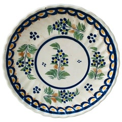 Small French Faience Plate Henriot Quimper, circa 1930