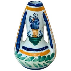 Small French Faience Vase, circa 1930