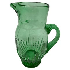 Small French Green Pitcher