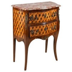 Small French Louis XVI Style Inlaid Commode, circa 1900