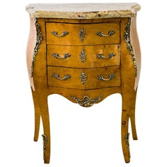 Small French Three-Drawer Commode