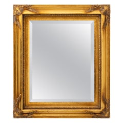 Small Gilt Italian Mirror