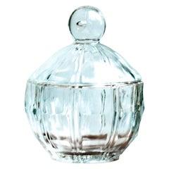 Small Glass Candy Jar