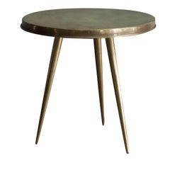 Small Gold Ishtar Coffee Table