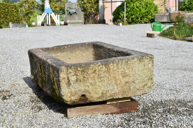 18th Century and Earlier Small Granite Fountain, 18th Century, France For Sale