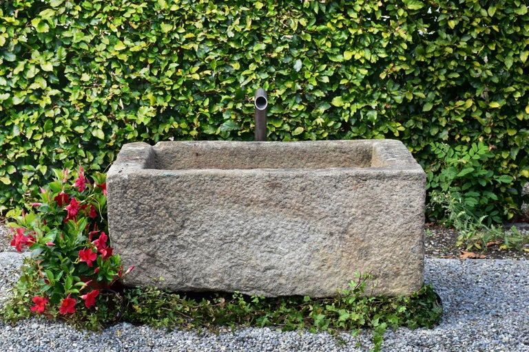 18th Century and Earlier Small Granite Trough, 18th Century