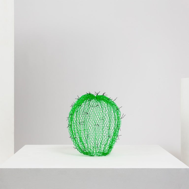 Benedetta works in many materials but is most well known for her innovative and extraordinarily wire work. Each piece starts life as flat rolled chicken wire which is gradually shaped by hand, twisting and joining the pieces together to give a