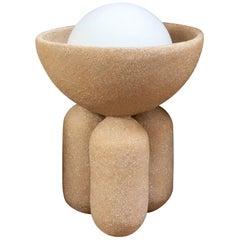 Small Half Sphere Lamp by Lisa Allegra