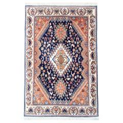 Small Handmade Carpet Tribal Rug, Traditional Vintage Rugs