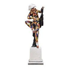 Small Harlequin Statue by Ceccarelli