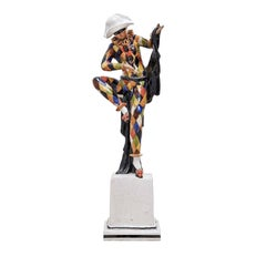 Small Harlequin Statue