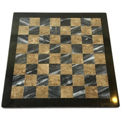 Small Inlaid Marble Chess Board