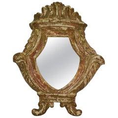 Small Italian 18th Century Neoclassical Mirror