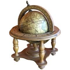 Small Italian Desk Globe
