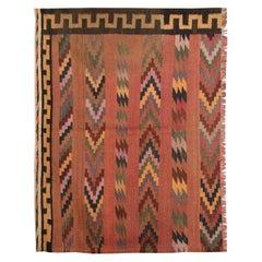 Small Kilims Vintage Carpet Handmade Wool Kilim Rug