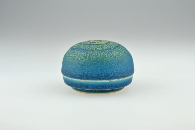 Japanese Small Lidded Box for Incence by Taniguchi Ryozo, 1926-1996 For Sale