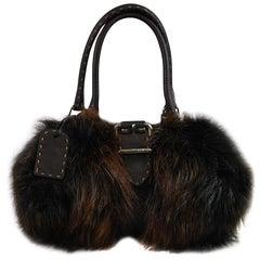 Small Limited Edition Fendi Fur Bag