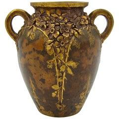 Small Louchet Paris Gilt Bronze Vase