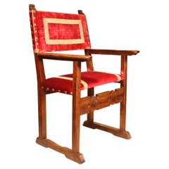 Small Mahogany Children Chair from the 19th Century
