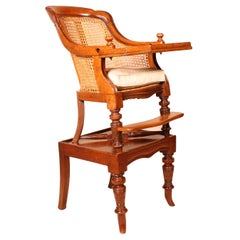 Small Mahogany Children Chair from the 19 ° Century