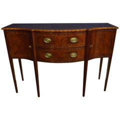 Small Mahogany Hepplewhite Style Sideboard by Leighton Hall