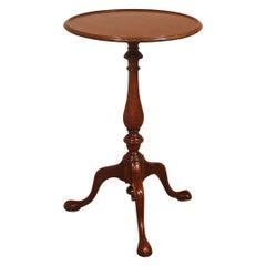 Small Mahogany Tripod Table, 19th Century