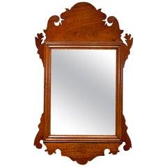 Small Mahogany Wall Mirror