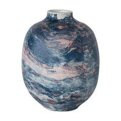 Small Marble Vase by Veronika Švábeníková