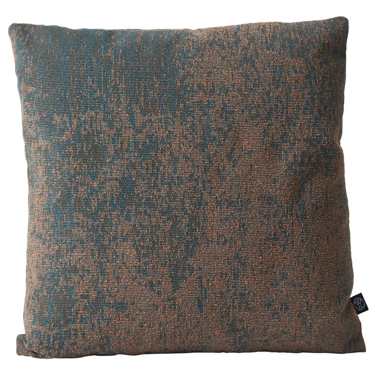 Small Memory Square Cushion or Throw Pillow by Warm Nordic For Sale