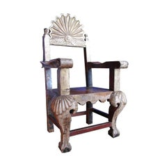 Small Mexican Processional Chair