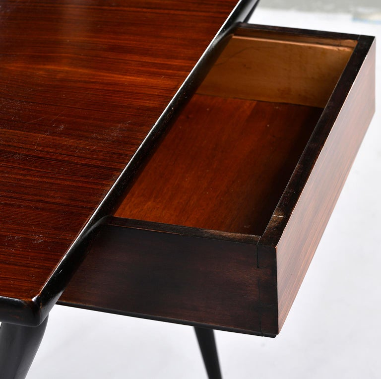 Small Midcentury Italian Desk or Writing Table 10