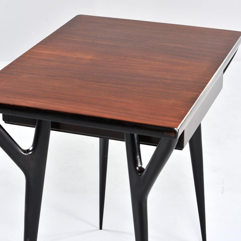 Small Midcentury Italian Desk or Writing Table 11