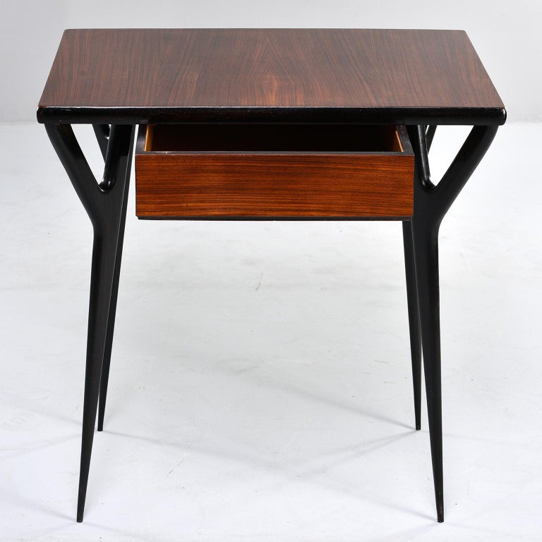 Small Midcentury Italian Desk or Writing Table 2