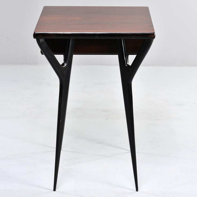 Small Midcentury Italian Desk or Writing Table 3