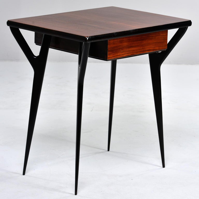 Small Midcentury Italian Desk or Writing Table 4