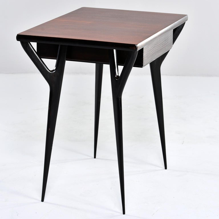 Small Midcentury Italian Desk or Writing Table 5