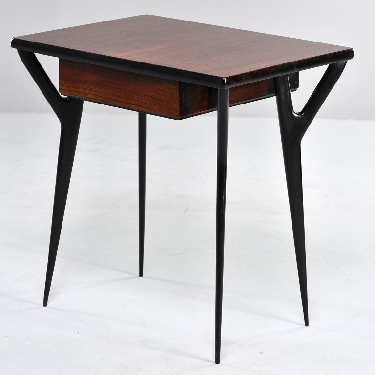 Small Midcentury Italian Desk or Writing Table 6