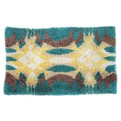 Small Midcentury Design Carpet in Ege Rya Style, Denmark, 1970