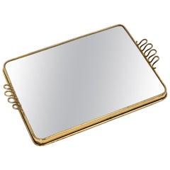 Small Mirror Tray