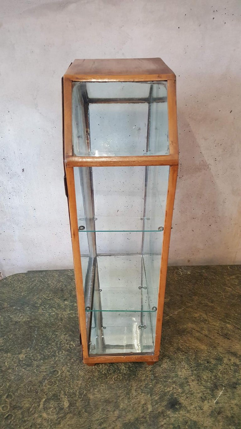 Small Mirrored Table Display from the 19th Century 13