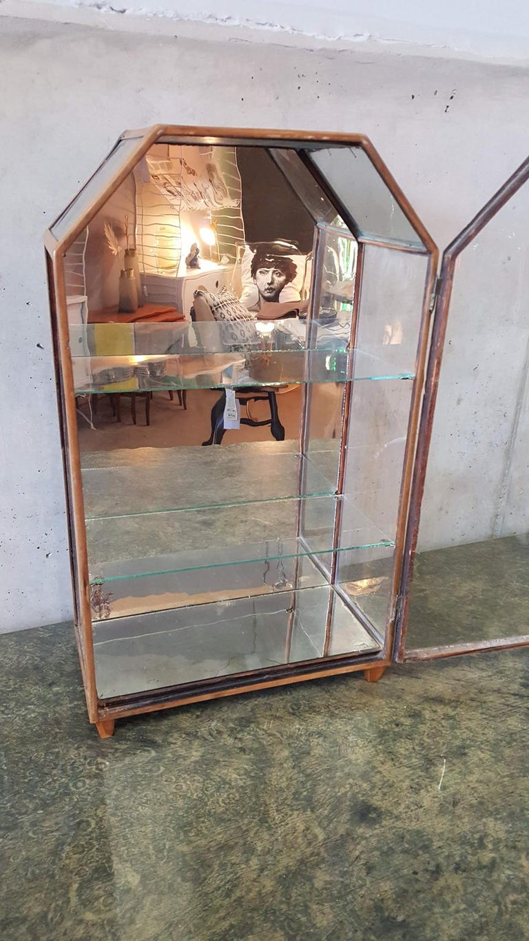 Small Mirrored Table Display from the 19th Century 3