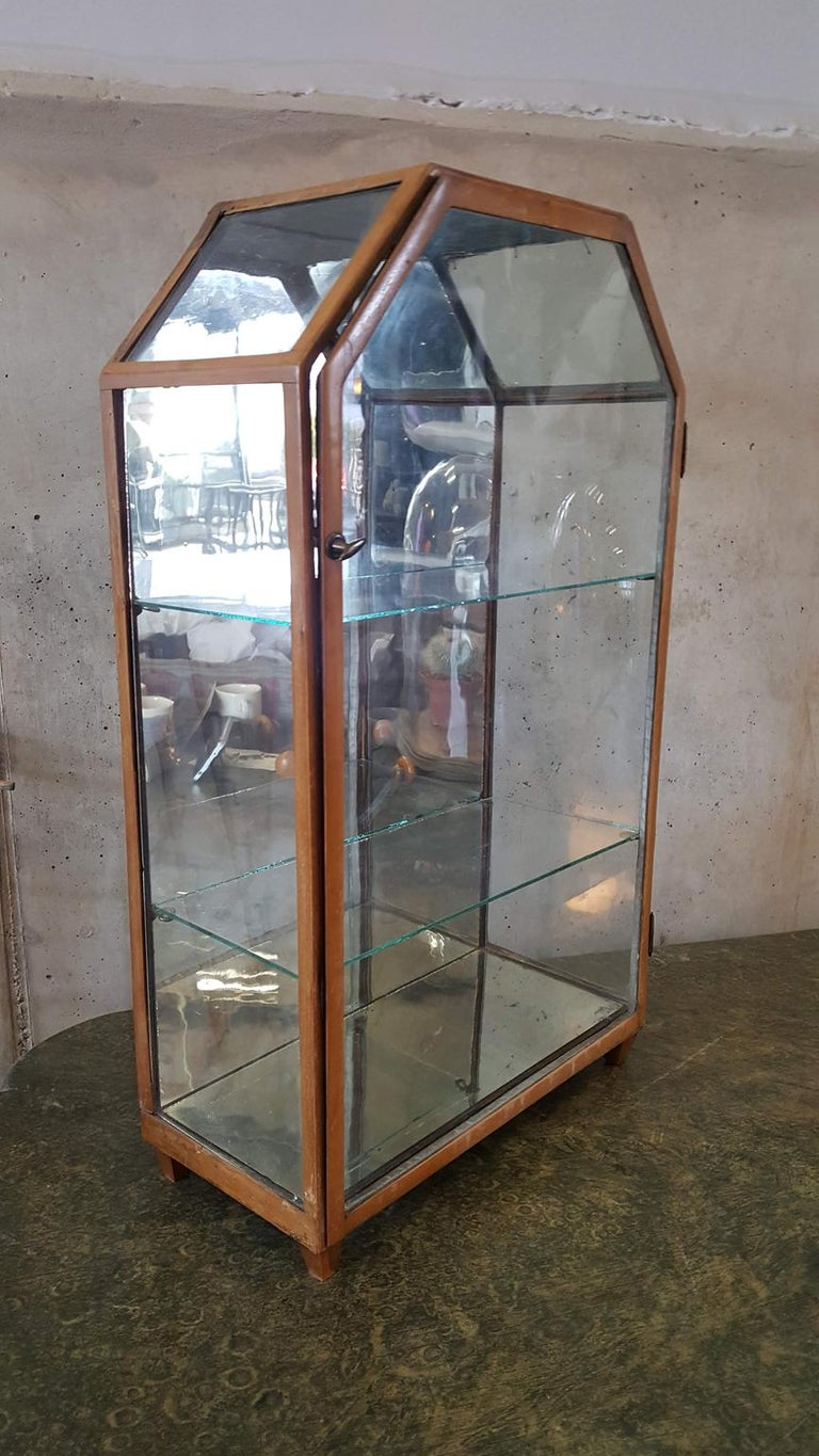 Small Mirrored Table Display from the 19th Century 7