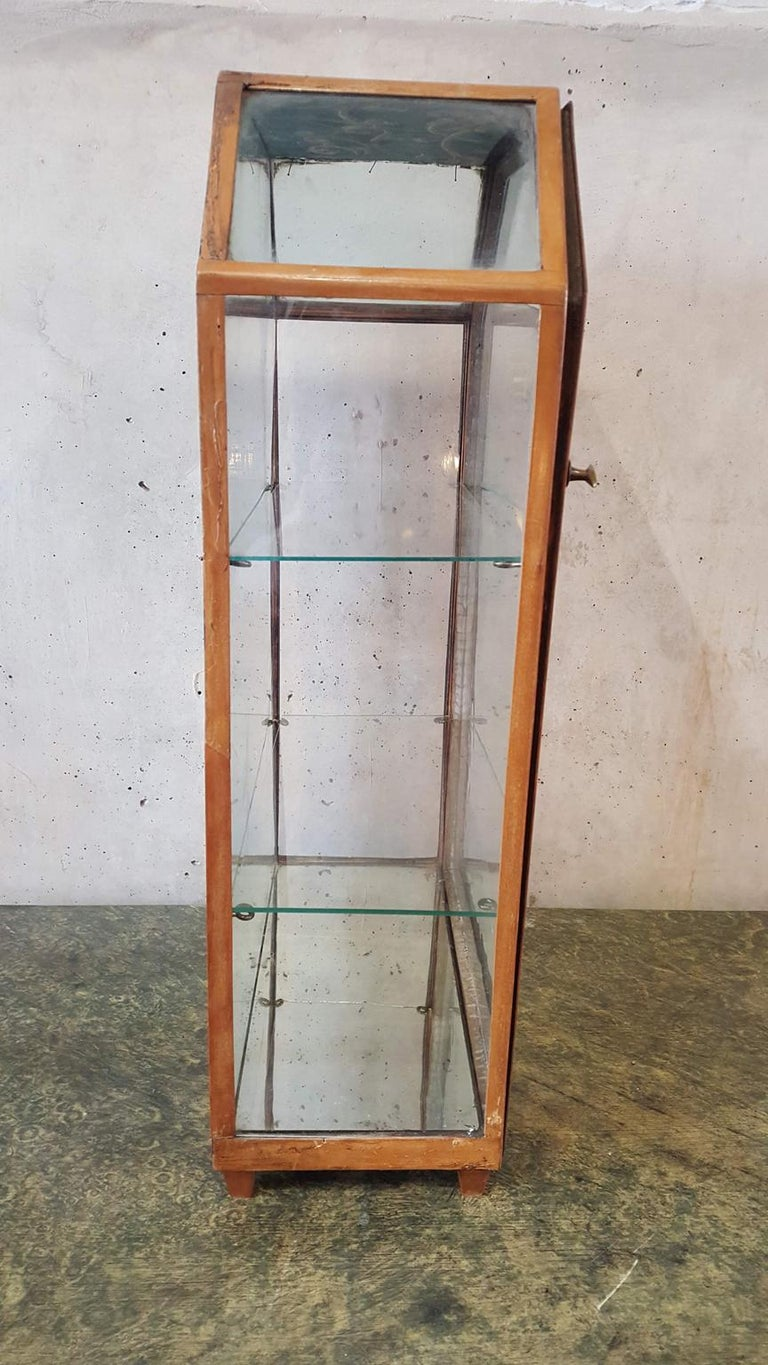 Small Mirrored Table Display from the 19th Century 9