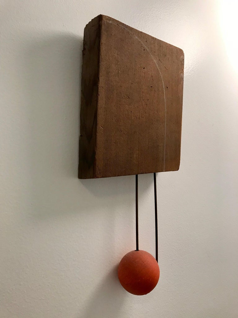 Modern Small Mixed Media Sculpture by Di Vincente For Sale